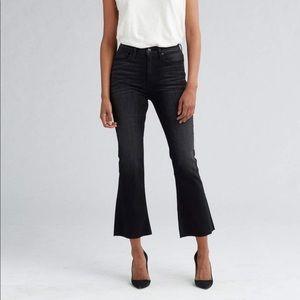 American eagle high rise crop black jeans